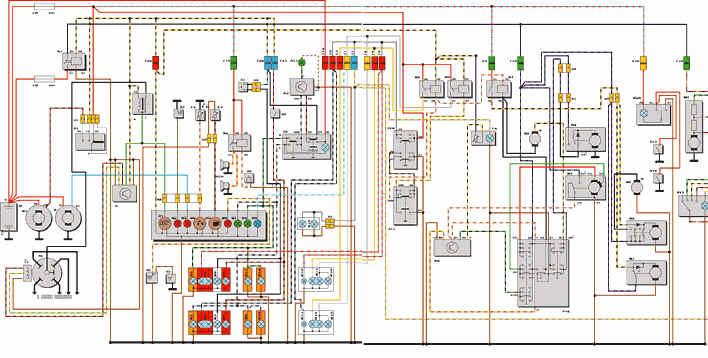 Схема FORD SIERRA